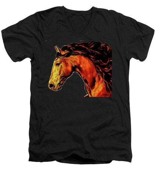 Trojan Men's V-Neck T-Shirt
