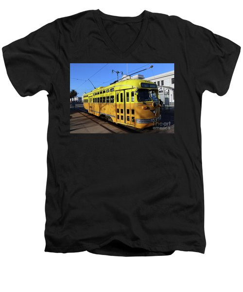 Trolley Number 1052 Men's V-Neck T-Shirt