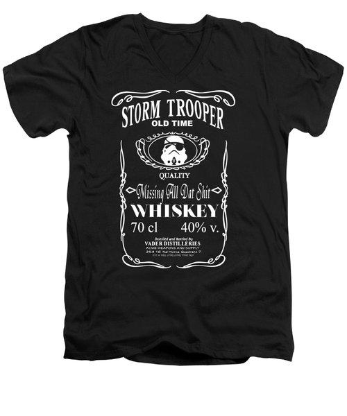 Trooper Men's V-Neck T-Shirt
