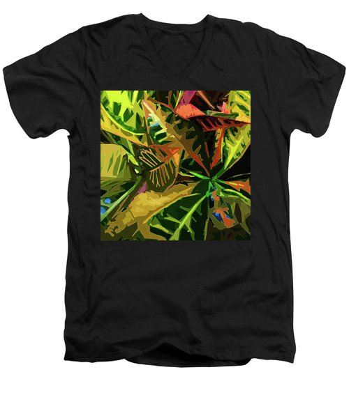 Tropicale Men's V-Neck T-Shirt