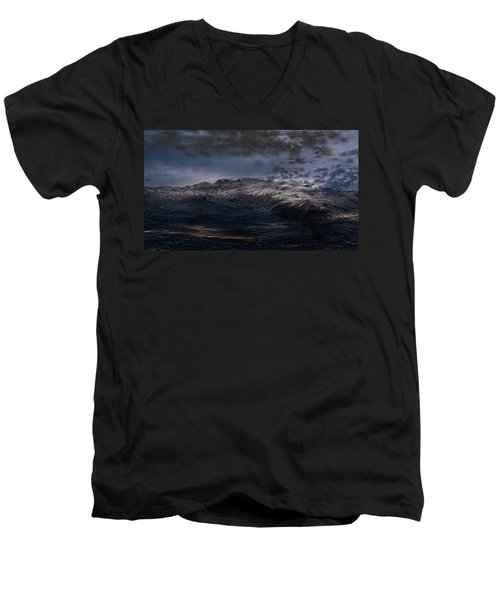 Troubled Waters Men's V-Neck T-Shirt