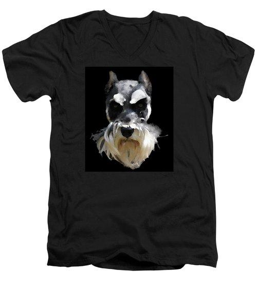 Troup Men's V-Neck T-Shirt by David and Lynn Keller