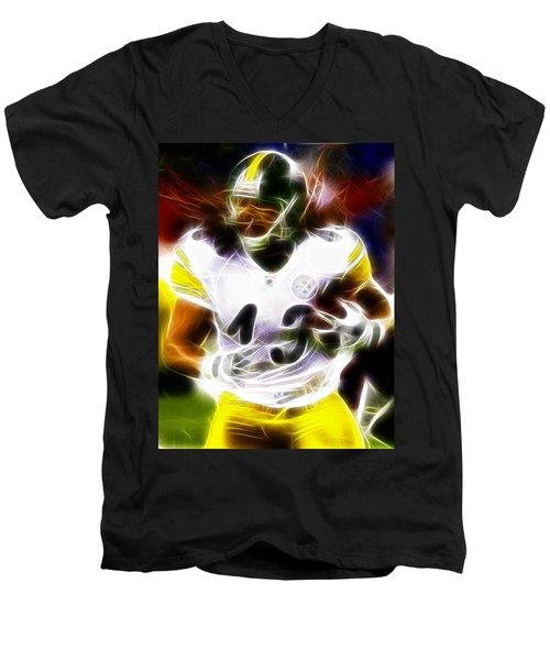 Troy Polamalu Men's V-Neck T-Shirt