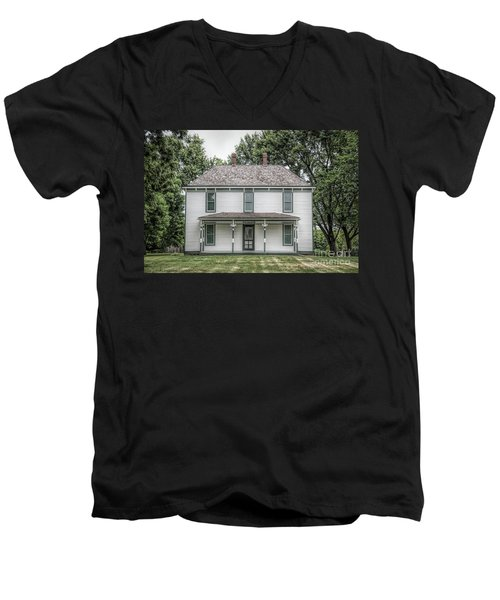 Truman Farm Men's V-Neck T-Shirt