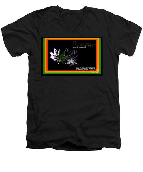Truth Men's V-Neck T-Shirt by Jacqueline Lloyd
