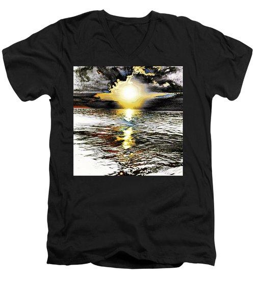 Truth Men's V-Neck T-Shirt by Nick Heap