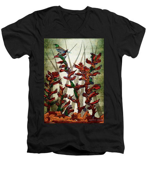 Tui In Flax Men's V-Neck T-Shirt