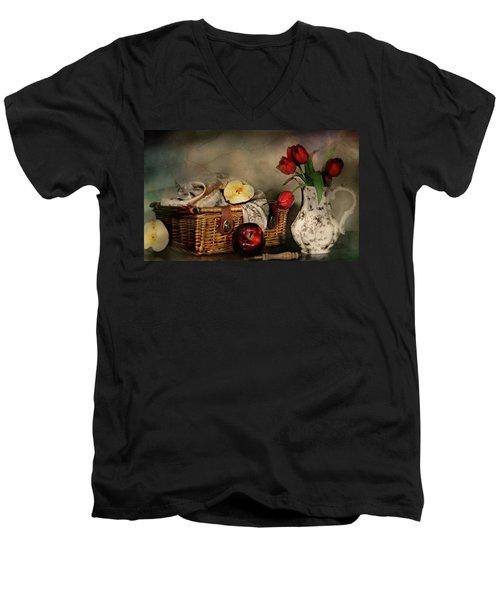 Basket And All Men's V-Neck T-Shirt