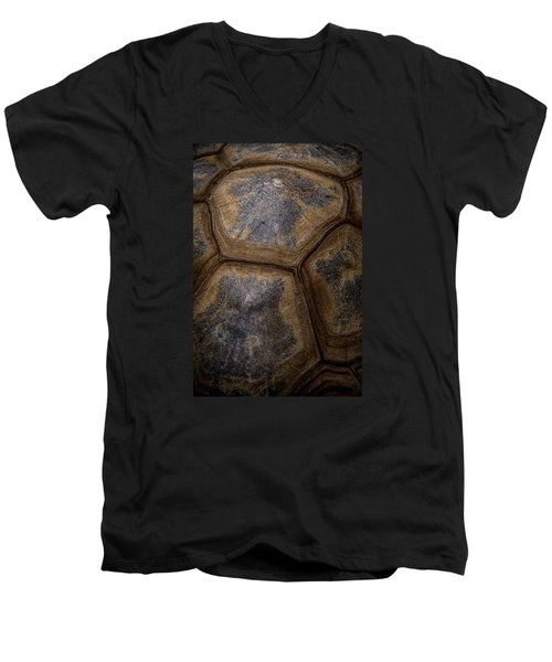 Turtle Shell Men's V-Neck T-Shirt