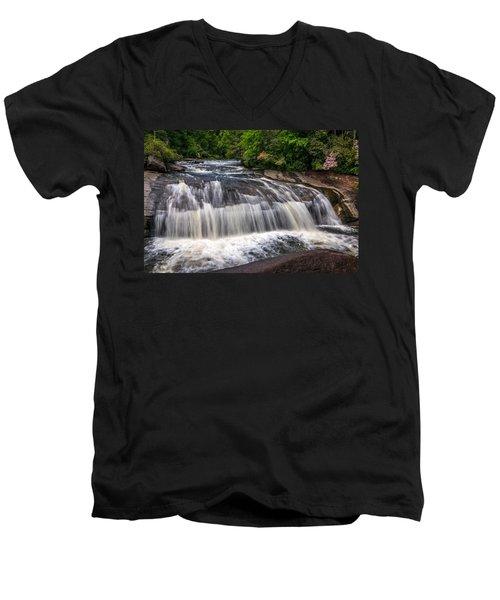 Turtleback Falls Men's V-Neck T-Shirt