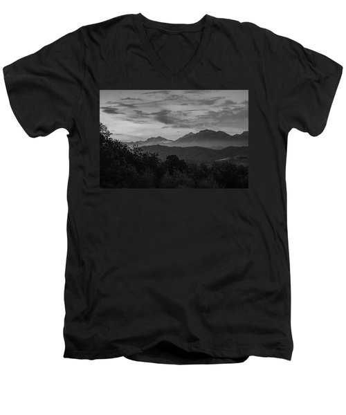 Tuscan Hills Men's V-Neck T-Shirt