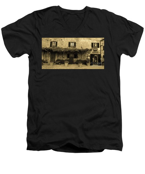 Tuscan Village Men's V-Neck T-Shirt