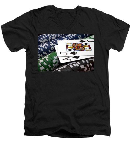 Twenty One Men's V-Neck T-Shirt