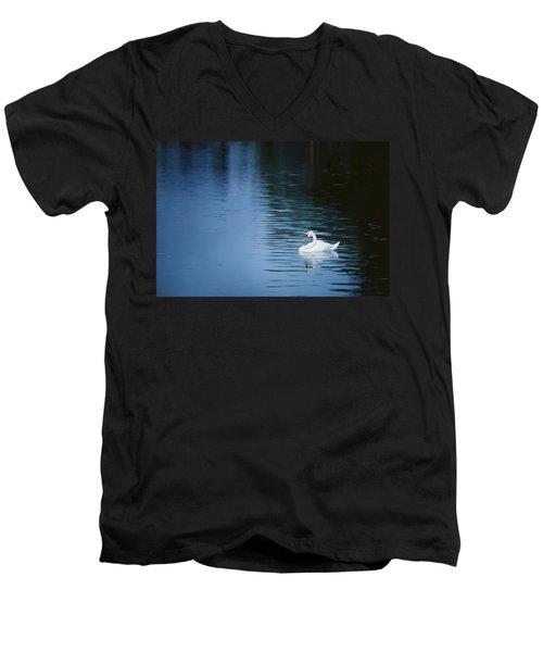 Twilight Drift Men's V-Neck T-Shirt
