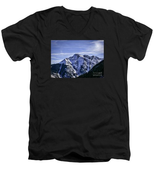 Twilight Peak Colorado Men's V-Neck T-Shirt