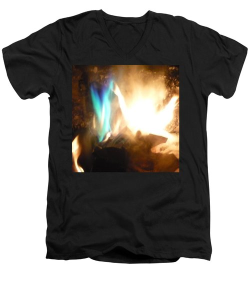 Twin Flame Men's V-Neck T-Shirt