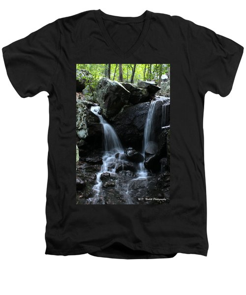 Two Become One Men's V-Neck T-Shirt