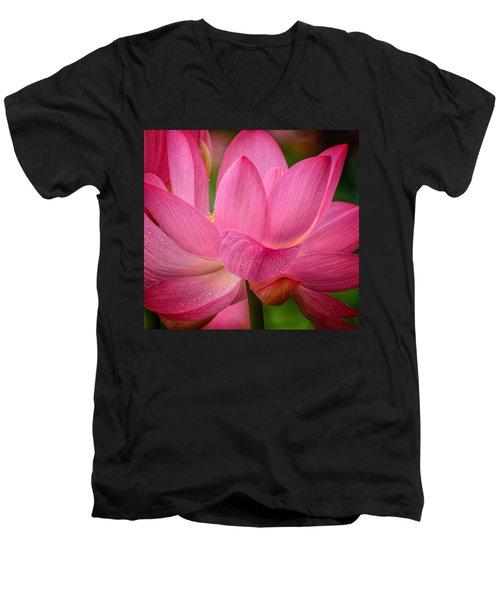 Two Blooms Men's V-Neck T-Shirt