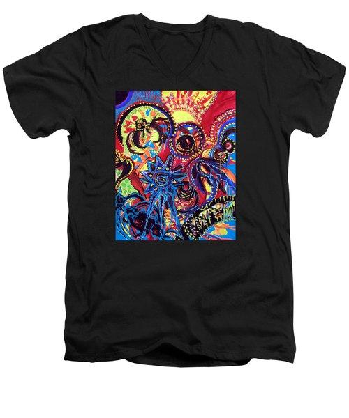Elements Of Creation Men's V-Neck T-Shirt