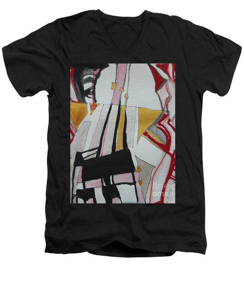 Two Musicians Men's V-Neck T-Shirt