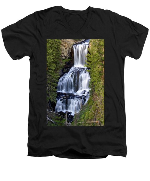 Udine Falls Men's V-Neck T-Shirt