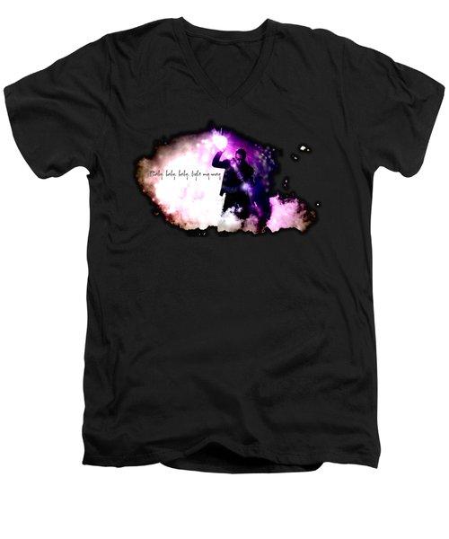 Ultraviolet Men's V-Neck T-Shirt by Clad63