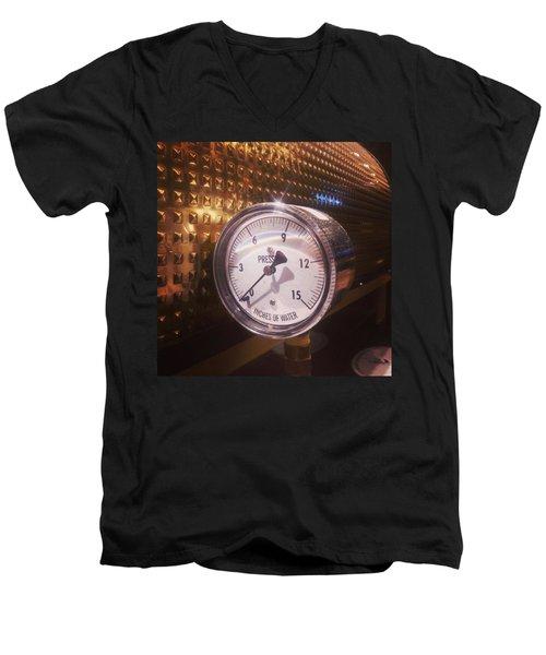 Under Pressure #coffee #cafe Men's V-Neck T-Shirt
