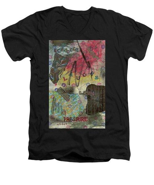 Under Pressure Men's V-Neck T-Shirt