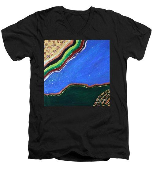 Under The Sea Men's V-Neck T-Shirt