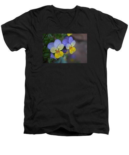 Unfurling Beauties Men's V-Neck T-Shirt
