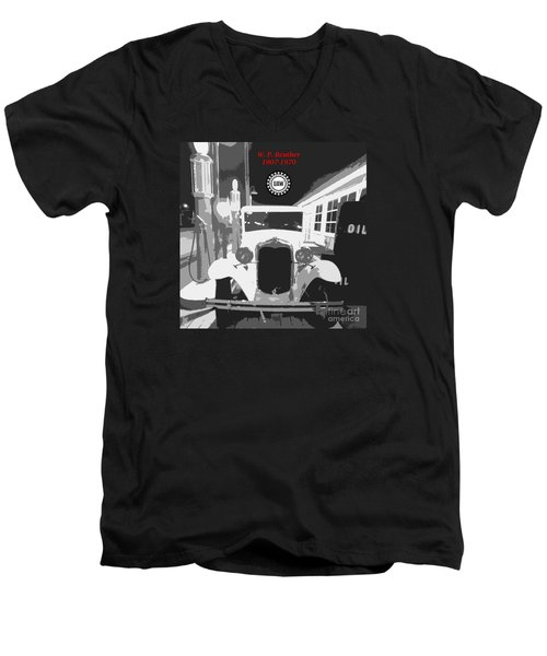 Union Made Men's V-Neck T-Shirt