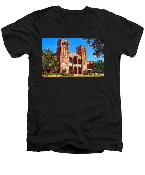 Ucla Men's V-Neck T-Shirt