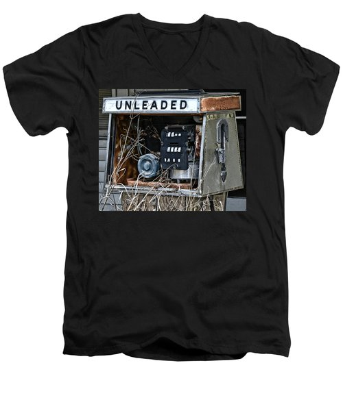 Unleaded Men's V-Neck T-Shirt