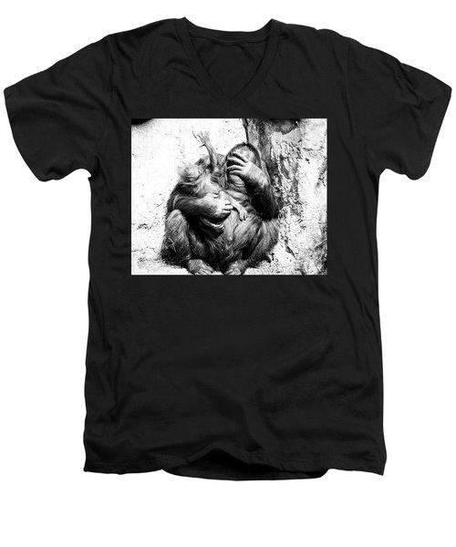 Unruly Men's V-Neck T-Shirt