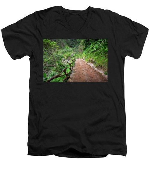 Until The Infinity Men's V-Neck T-Shirt