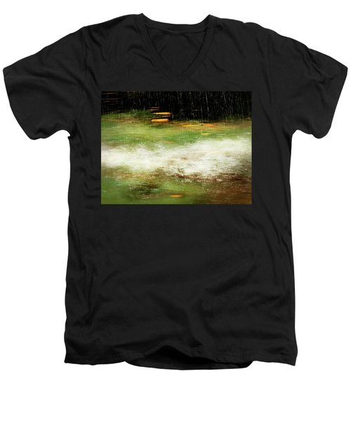 Untitled #8090498, From The Soul Searching Series Men's V-Neck T-Shirt