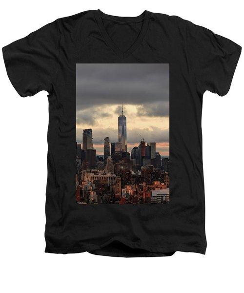 Up High  Men's V-Neck T-Shirt