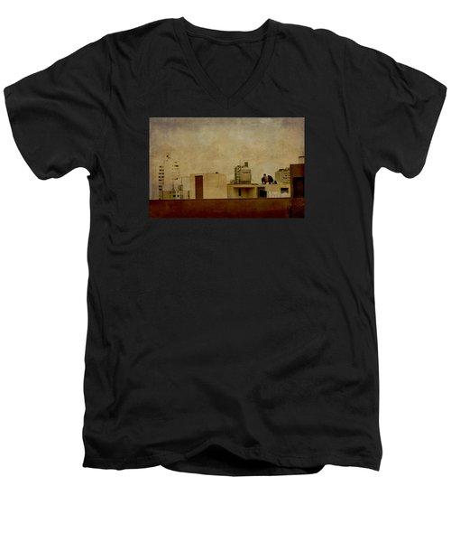 Up On The Roof Men's V-Neck T-Shirt
