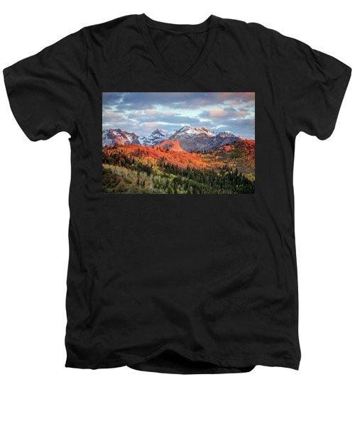Upper American Fork Canyon Men's V-Neck T-Shirt