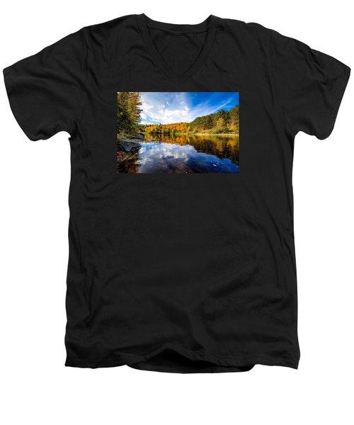 Upper Ammonoosuc River Men's V-Neck T-Shirt