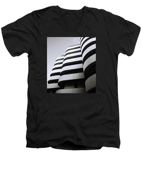 Urban Alienation Men's V-Neck T-Shirt by Shaun Higson