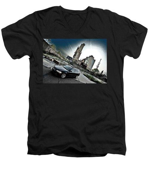 Urban Background Men's V-Neck T-Shirt