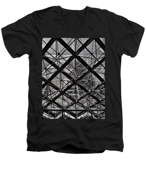 Urban Patterns - Sao Paulo  Men's V-Neck T-Shirt