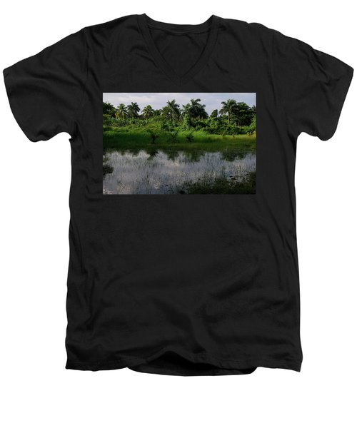 Urban Swamp Men's V-Neck T-Shirt