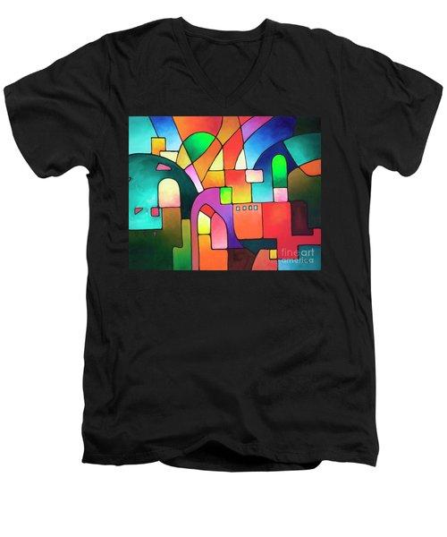 Urbanity Men's V-Neck T-Shirt