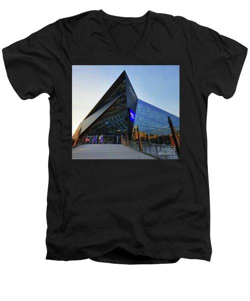 Usbank Stadium The Approach Men's V-Neck T-Shirt