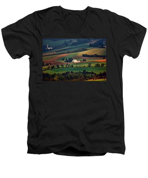 Valley Men's V-Neck T-Shirt