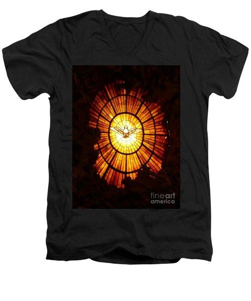 Vatican Window Men's V-Neck T-Shirt