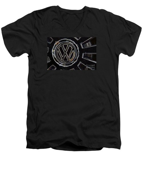 VW3 Men's V-Neck T-Shirt by Wendy Wilton