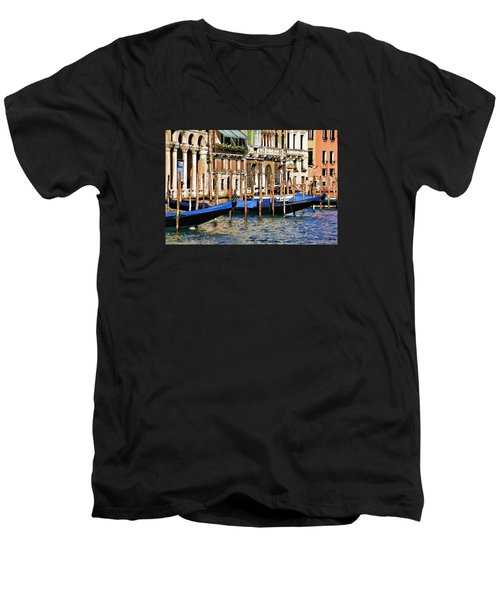 Venice Untitled Men's V-Neck T-Shirt